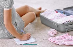 Comment faire ma valise pour la maternité ? (Le trousseau)