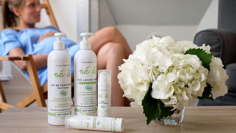 Né à : les produits dermo-cosmétiques bios