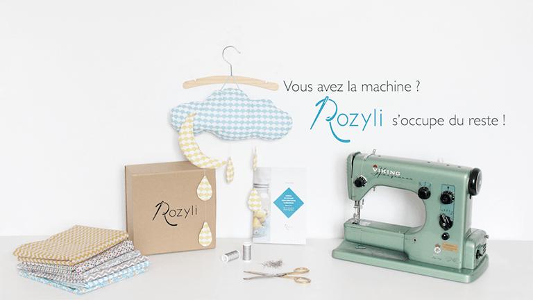 Rozyli, la première box couture bébé.